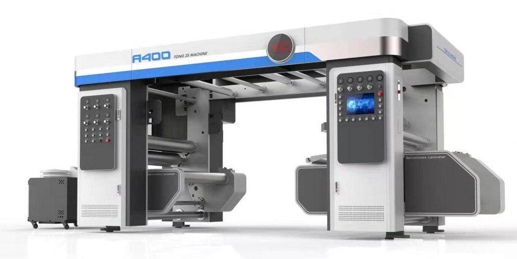 A400型无溶剂复合机