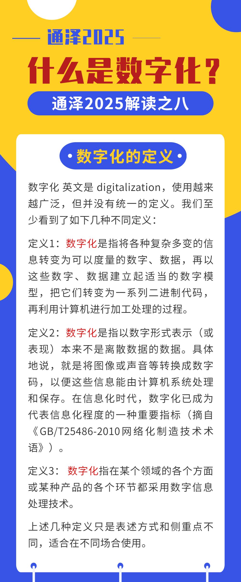 什么是数字化? ——通泽2025解读之八