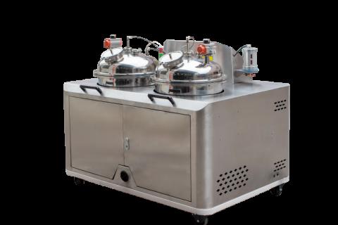 """数字式自动混胶机:无溶剂复合机新""""芯脏"""""""